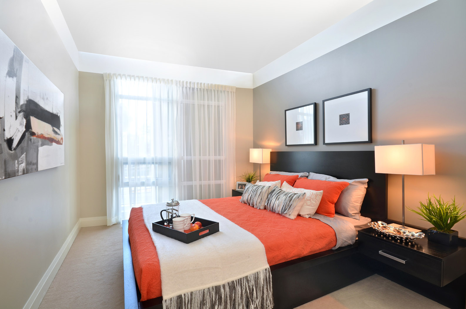 Fall in love with this model suite in the condo know for Love bedroom photo