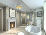 Four Seasons Penthouse Master Bathroom
