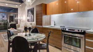 1 Bdrm - Kitchen